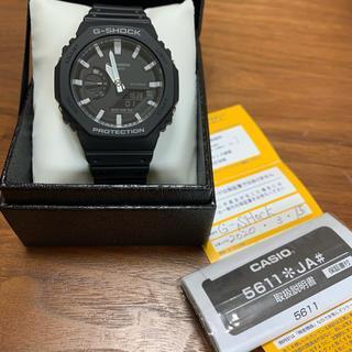 ジーショック(G-SHOCK)のG-SHOCK GA-2100-1AJF メンズ ブラック(腕時計(デジタル))