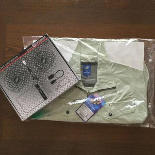 トライチ(寅壱)の空調服(258601)とファンバッテリーフルセット(KS-10)新品未使用(扇風機)