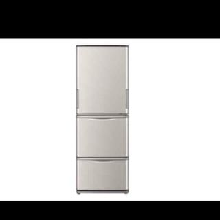 SHARP - 冷蔵庫 シャープ どっちもドア 両開き シャンパンピンク 使いやすいサイズ