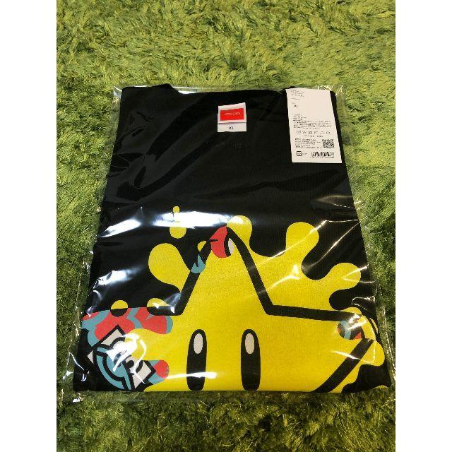 任天堂(ニンテンドウ)のXLサイズ スプラトゥーン2 フェスTシャツ スーパースター メンズのトップス(Tシャツ/カットソー(半袖/袖なし))の商品写真