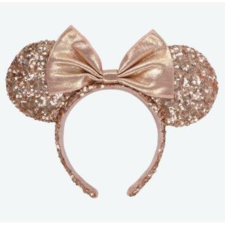 Disney - ディズニーカチューシャ ピンクゴールド
