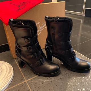 クリスチャンルブタン(Christian Louboutin)のルブタン 貴重サイズ 40 スタッズ ブーツ(ブーツ)