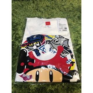 ニンテンドウ(任天堂)のMサイズ スプラトゥーン2 フェスTシャツ スーパーキノコ(Tシャツ/カットソー(半袖/袖なし))