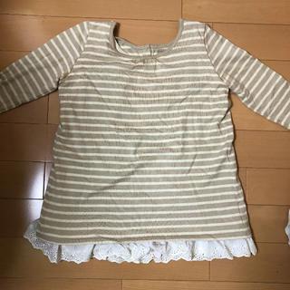 ベルメゾン - ベルメゾン 授乳服 M 七分袖 ベージュ