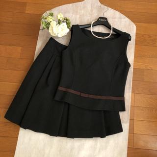フォクシー(FOXEY)の美品♡FOXEY BOUTIQUE♡ トップス スカート♡セットアップ(セット/コーデ)