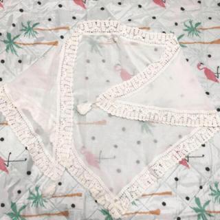 ローリーズファーム(LOWRYS FARM)のシフォン刺繍 ストール(ストール/パシュミナ)