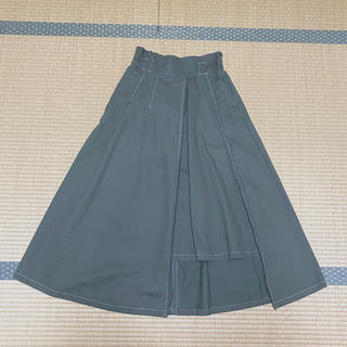 チャオパニック(Ciaopanic)のチャオパニック ステッチAラインスカート(ロングスカート)