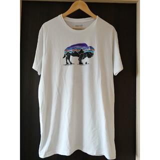 patagonia - patagonia パタゴニア バッファロー Tシャツ 白 XL メキシコ製