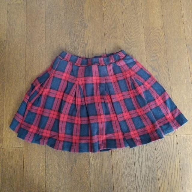 petit main(プティマイン)のプティマイン 130 インナー付きスカート キッズ/ベビー/マタニティのキッズ服女の子用(90cm~)(スカート)の商品写真