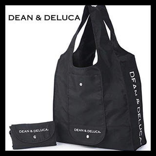 ディーンアンドデルーカ(DEAN & DELUCA)の新品! DEAN&DELUCA☆エコバッグ☆ブラック☆マイバッグ 買い物バッグ (エコバッグ)
