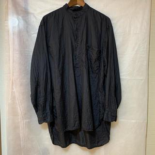 COMOLI - COMOLI (コモリ) シルク プルオーバーシャツ サイズ2