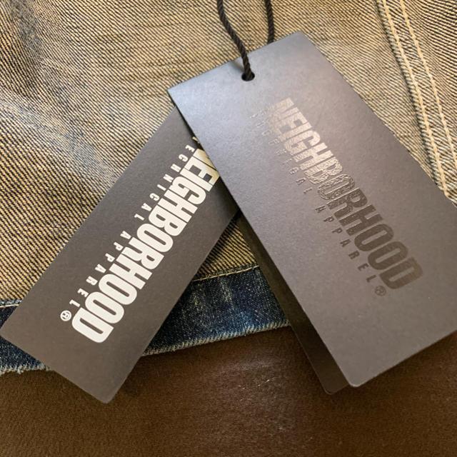 NEIGHBORHOOD(ネイバーフッド)のNEIGHBORHOOD RAILROAD/C-JKT  メンズのジャケット/アウター(Gジャン/デニムジャケット)の商品写真