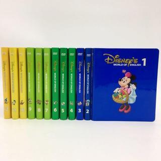 Disney - 2008年購入!ストレートプレイDVD12枚 ディズニー英語システム DWE