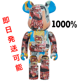メディコムトイ(MEDICOM TOY)のBE@RBRICK  JEAN-MICHEL BASQUIAT 1000%(フィギュア)