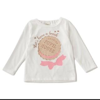 NARUMIYA INTERNATIONAL - 【新品タグ付き】ピューピルハウス ビスケットリボンTシャツ ロンT 80