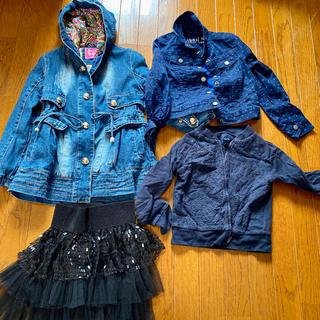 ギャップ(GAP)の女の子コート、ジャケット、スカート4枚まとめ売り(ジャケット/上着)
