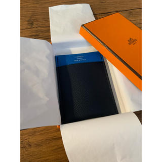 エルメス(Hermes)のエルメス ガマ カードケース 名刺入れ パスケース 新品未使用(名刺入れ/定期入れ)