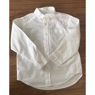 GU - GU  ボタンダウンコットンシャツ 120