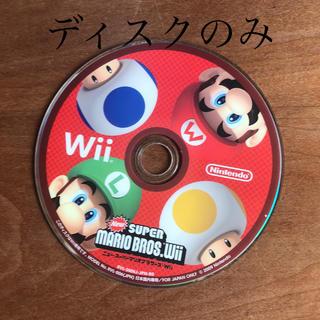 ウィー(Wii)のNew スーパーマリオブラザーズ Wii Wii(家庭用ゲームソフト)