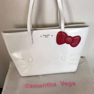 Samantha Vega - 新品未使用品♡サマンサベガ×ハローキティコラボトートバッグ♡