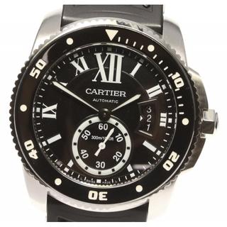 カルティエ(Cartier)の☆美品 カルティエ カリブル ドゥ カルティエ ダイバー メンズ 【中古】(腕時計(アナログ))