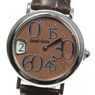 ジェラルドジェンタ(Gerald Genta)のジェラルドジェンタ レトロクラシック REC.S.10 レディース 【中古】(腕時計)