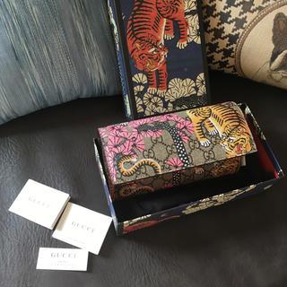 グッチ(Gucci)の正規品 新品未使用 GUCCI 財布 ベンガル トラ柄 GGスプリーム(財布)