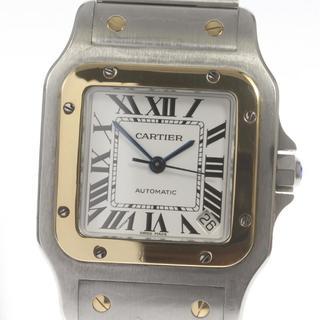 カルティエ(Cartier)の☆良品 カルティエ サントスガルベXL  W20099C4 メンズ 【中古】(腕時計(アナログ))