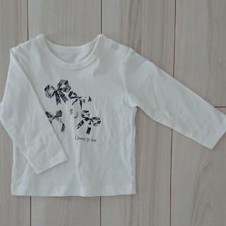 コムサイズム(COMME CA ISM)の未使用 80 わけあり コムサ イズム カットソー シャツ(Tシャツ)