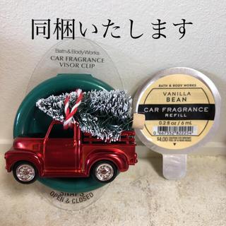 バスアンドボディーワークス(Bath & Body Works)の専用 バスアンドボディワークス  クリスマス カーフレグランスクリップリフィル(アロマポット/アロマランプ/芳香器)