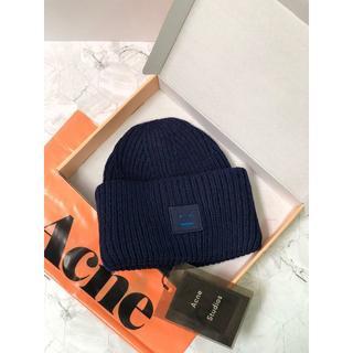 アクネ(ACNE)のAcne  笑顔ニット帽(ニット帽/ビーニー)