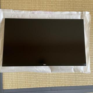 エルジーエレクトロニクス(LG Electronics)の27UK600-W 4Kディスプレイ(ディスプレイ)