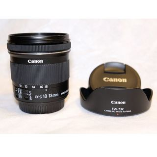 Canon - Canon EF-S10-18mm F4.5-5.6 IS STM 純正フード付