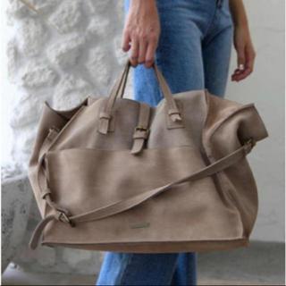 ルームサンマルロクコンテンポラリー(room306 CONTEMPORARY)の06contemporary スエードリアルレザーハンドバッグ(ハンドバッグ)
