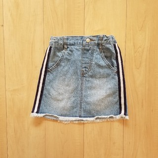 GU - ラインスカート 110センチ
