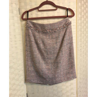 エストネーション(ESTNATION)の未使用 エストネーションツイードタイトスカート(ひざ丈スカート)
