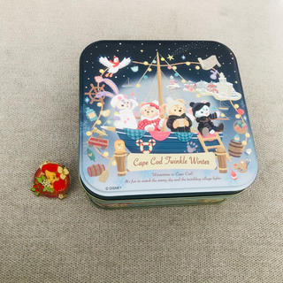 Disney - ダッフィー お菓子 クリスマス 空き缶
