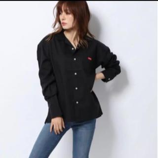 エックスガール(X-girl)のエックスガール X-girl BOX LOGO L/S SHIRT BLACK(Tシャツ/カットソー(七分/長袖))