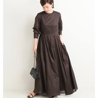 IENA - VERMEIL par iena コットンローンフリュイドドレス 完売品 美品