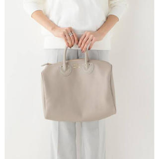 IENA - YOUNG&OLSEN EMBOSSED LEATHER ボストン(S)◆