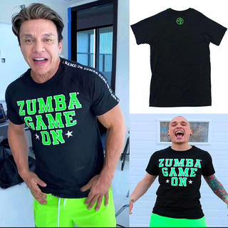 ズンバ(Zumba)の【新作】ZUNBA ズンバTシャツ  黒 L(Tシャツ/カットソー(半袖/袖なし))
