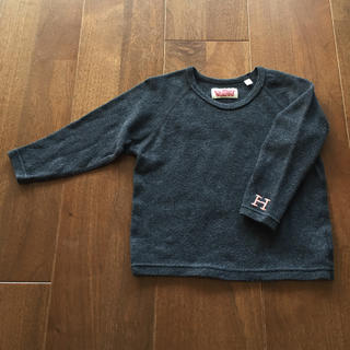 ハリウッドランチマーケット(HOLLYWOOD RANCH MARKET)のmiz様専用☆ロンT1(80〜90)グレー紺 2枚セット(Tシャツ/カットソー)