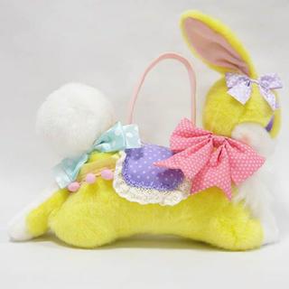 アンジェリックプリティー(Angelic Pretty)のFantasic bunny バッグ イエロー(ぬいぐるみ/人形)