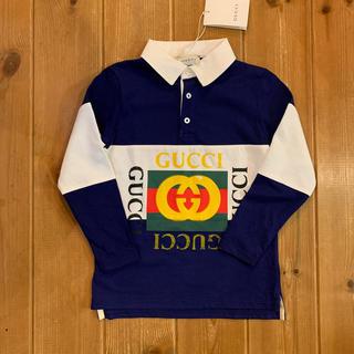 グッチ(Gucci)の新品 GUCCI トップス ポロシャツ グッチ フェンディ アルマーニ(Tシャツ/カットソー)