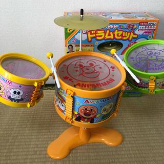 アンパンマン - 大きな アンパンマンドラムセット(アンパンマンドラム)【中古】