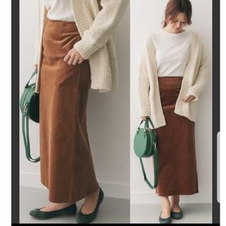 ドアーズ(DOORS / URBAN RESEARCH)の美品 アーバンリサーチドアーズ コーデュロイ ロング スカート(ロングスカート)
