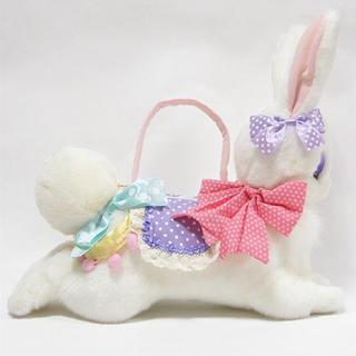 アンジェリックプリティー(Angelic Pretty)のFantasic bunnyバッグ 白(ぬいぐるみ/人形)