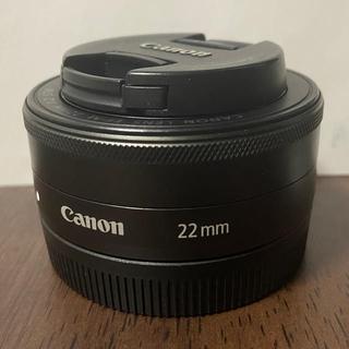 Canon - EF-M22mm F2 STM ブラック ef-m 22mm パンケーキレンズ