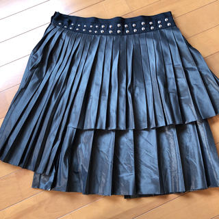 サカイ(sacai)のsacai プリーツ スカート(ひざ丈スカート)