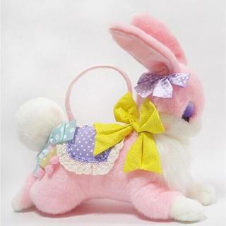 アンジェリックプリティー(Angelic Pretty)のFantasic bunnyバッグ ピンク(ぬいぐるみ/人形)